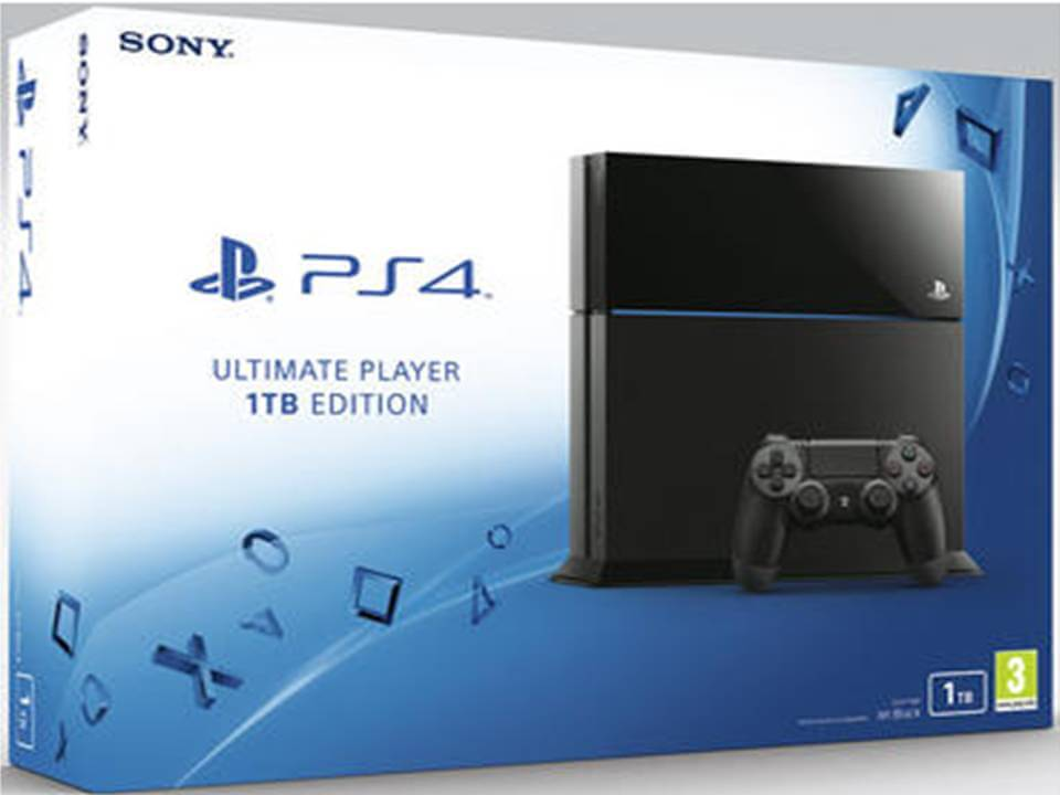 PlayStation 4 de 1TB