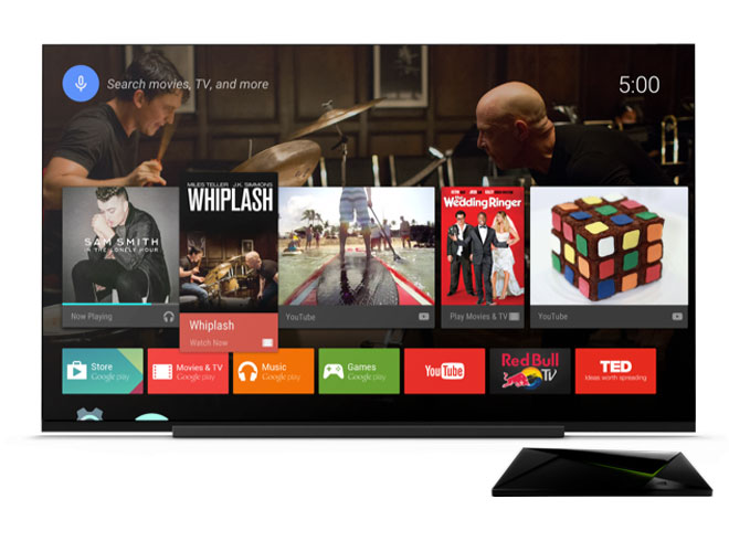 Apps de streaming de Android TV