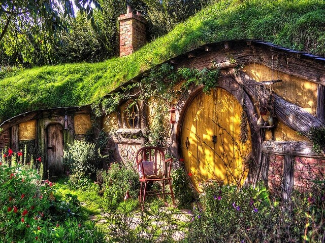 Ejemplo del Hobbit House en Suffolk