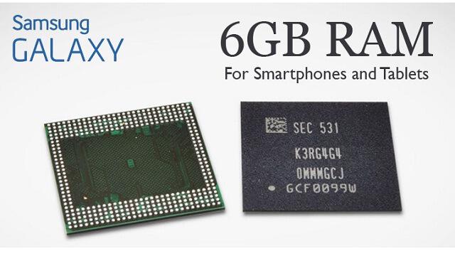 Samsung lanza nuevos Chips de memoria RAM de 6GB