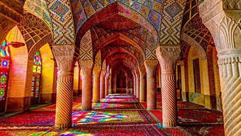 10. Mezquita Nasir Al Mulk