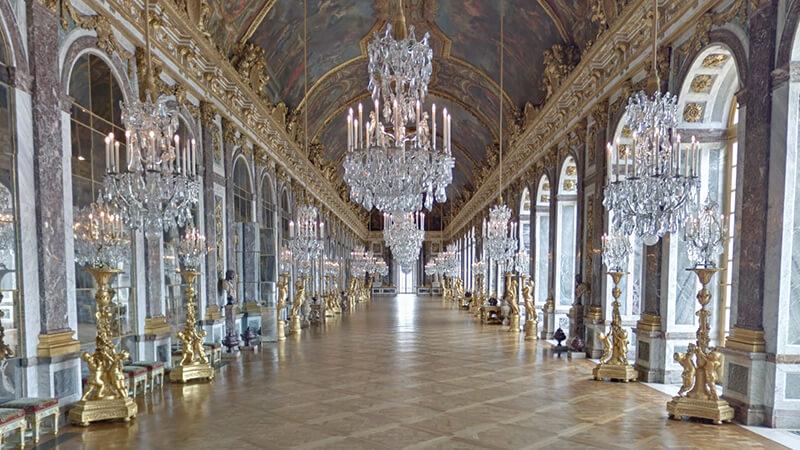 17. Palacio de Versalles