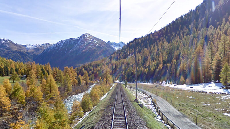 18. Suiza Ferroviaria Alpes