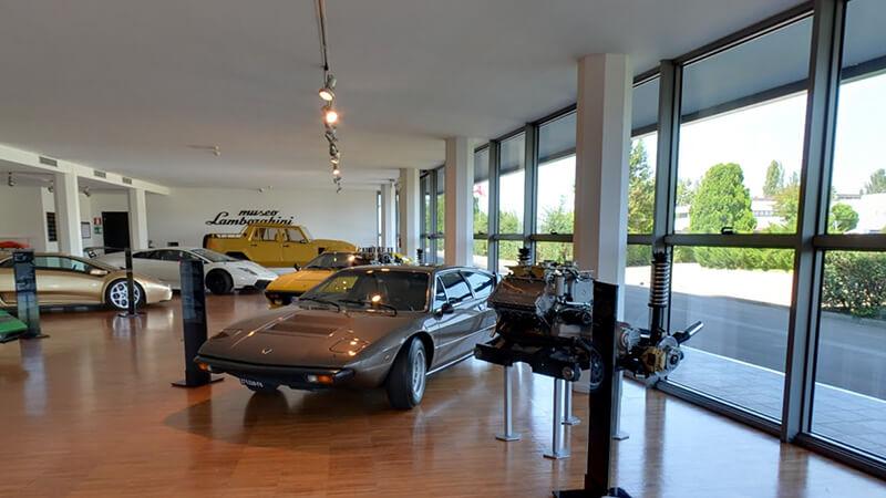 4. El Museo Lamborghini