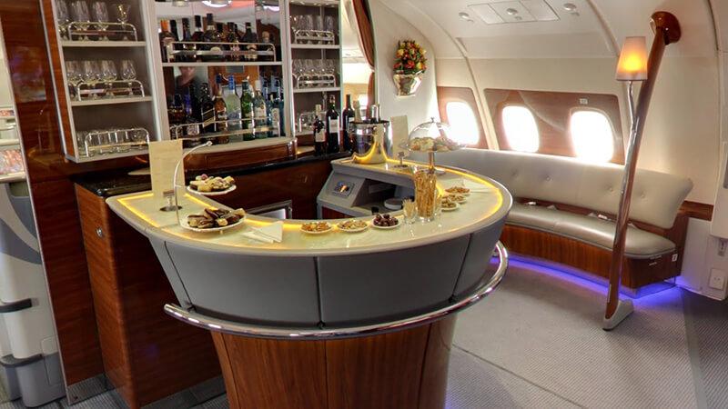 8. Emirates Airbus A380