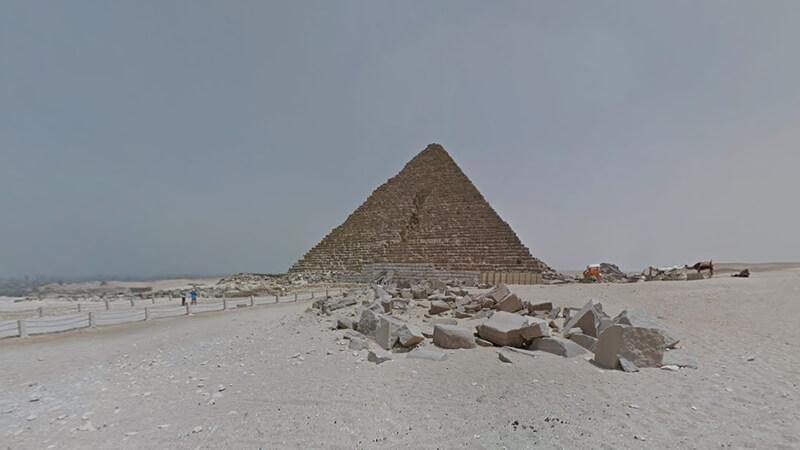 9. La pirámide de Giza