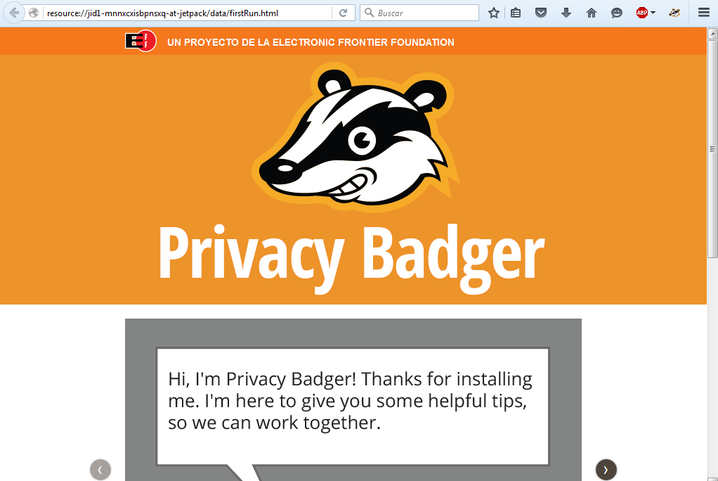 Privacy Badger Instalar Firefox 5