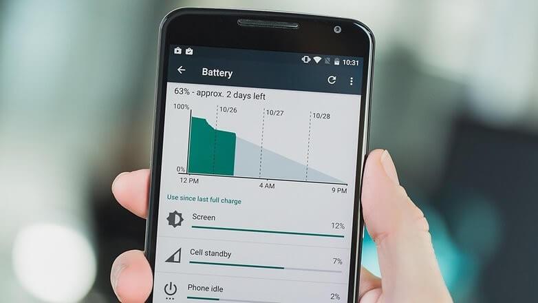 Mejoras en el ahorro de batería