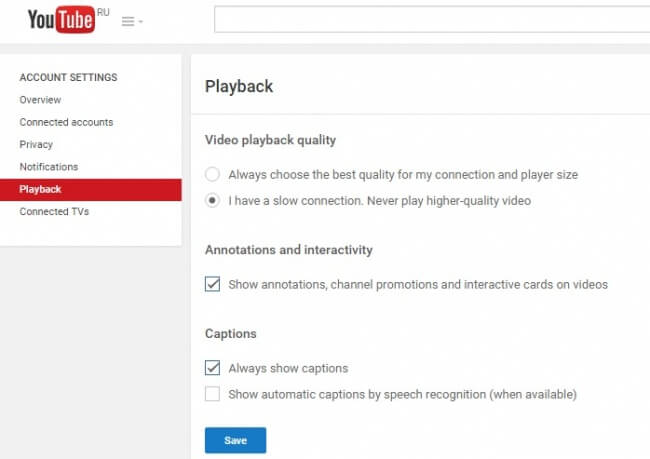la página youtube.comaccount_playback